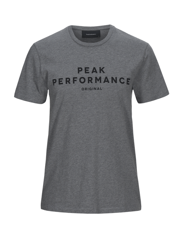 peak performance men's original t-shirt grey melange