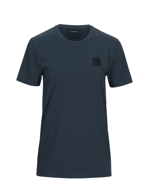 peak performance men's urban tee blue steel