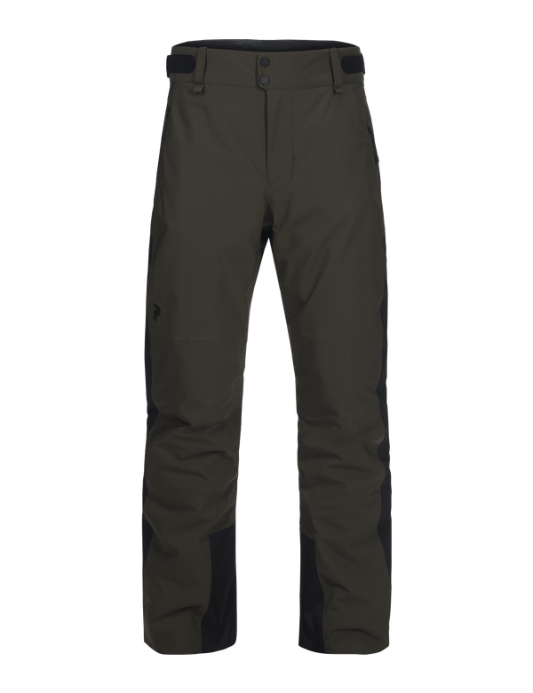 Peak performance men's maroon race ski pant forest night
