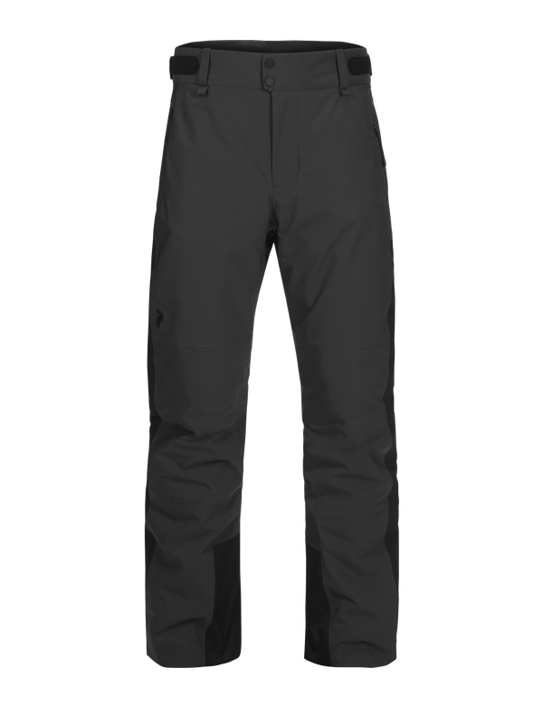 Men's Padded HipeCore+ Maroon Race Ski Pants black