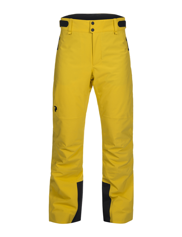 Men's Padded HipeCore+ Maroon Race Ski Pants Desert Yellow / 75J