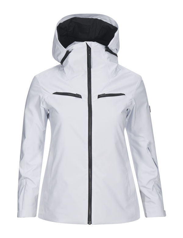 PEAK PERFORMANCE WOMEN'S PADDED HIPECORE+ LANZO SKI JACKET White