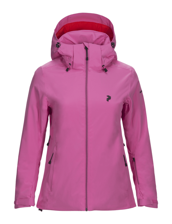 peak performance women's anima ski jacket pink