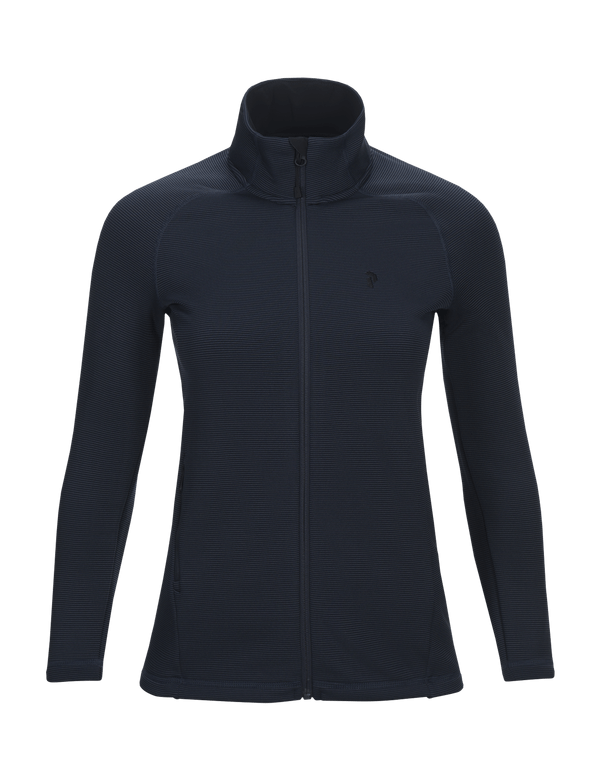 peak performance women's waitara zipped salute blue