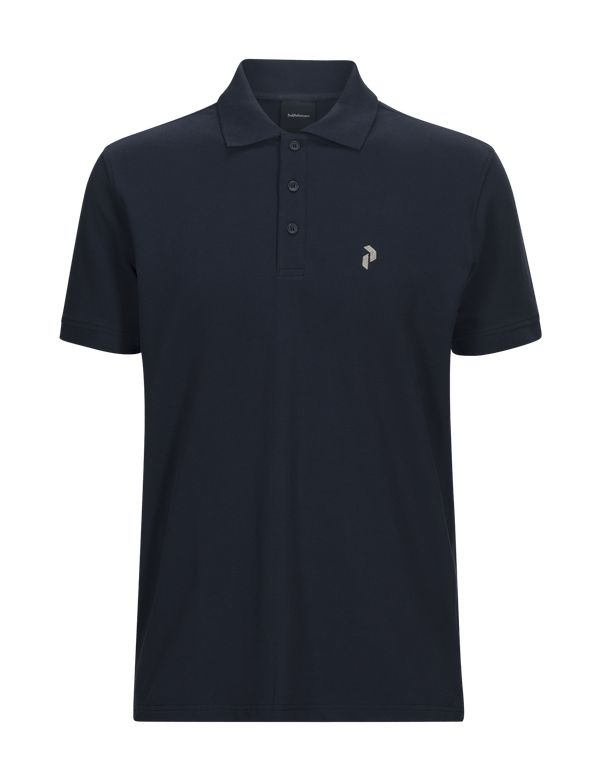 peak performance men's classic pique polo