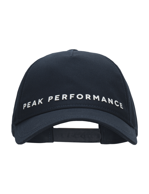 peak performance men's logo cap blue shadow