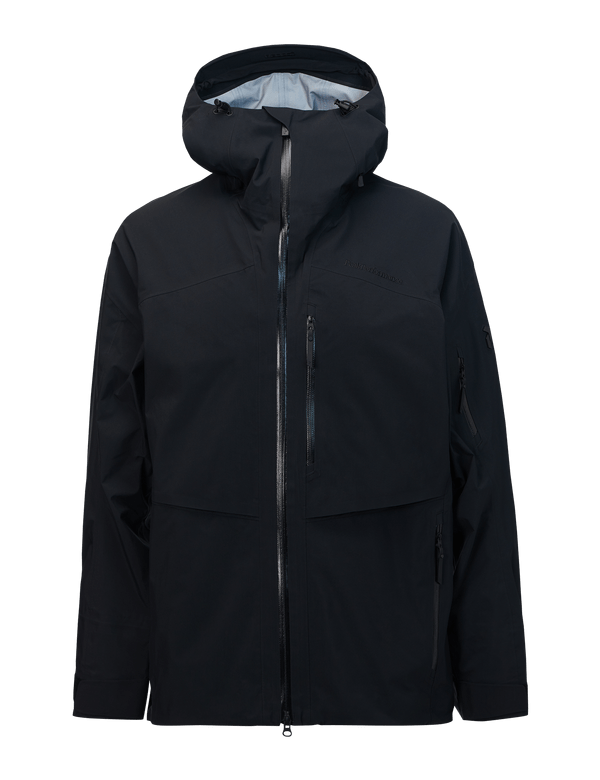 peak performance men's goretex gravity jacket black
