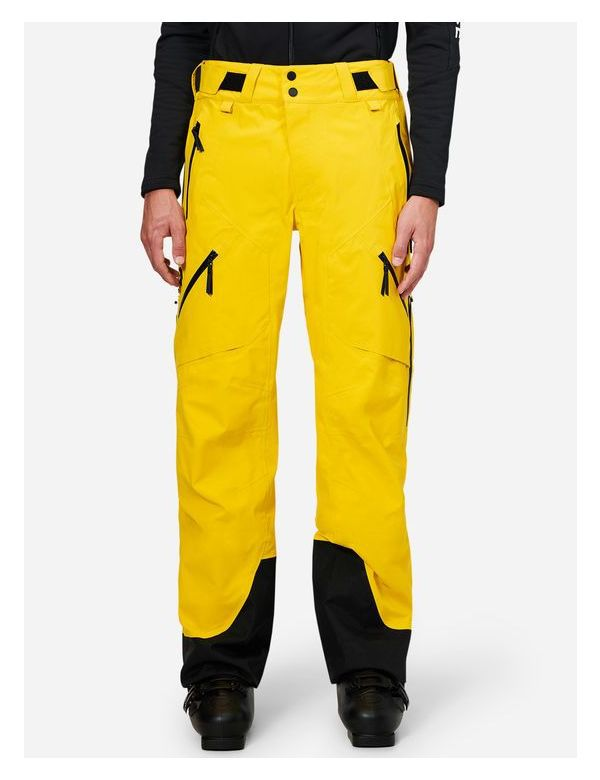 peak performance men's gravity pants 3 layer gore tex desert yellow