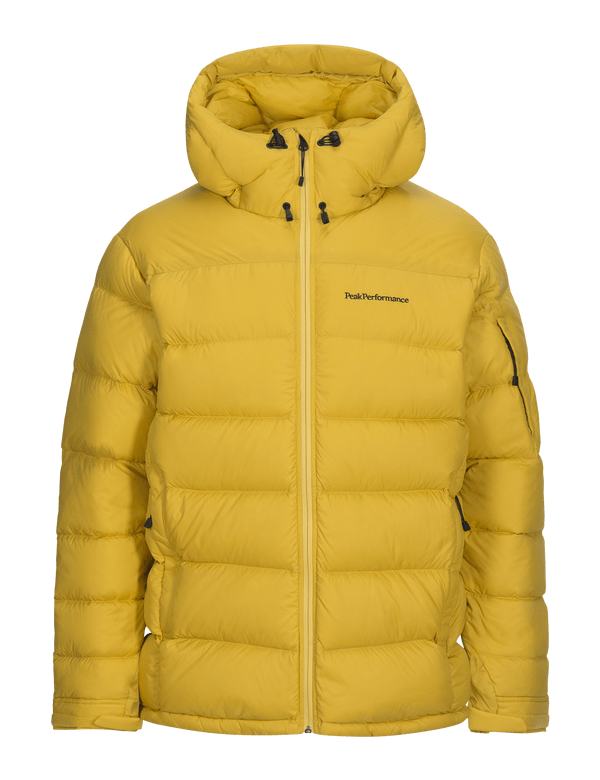 Frost down jacket desert yellow