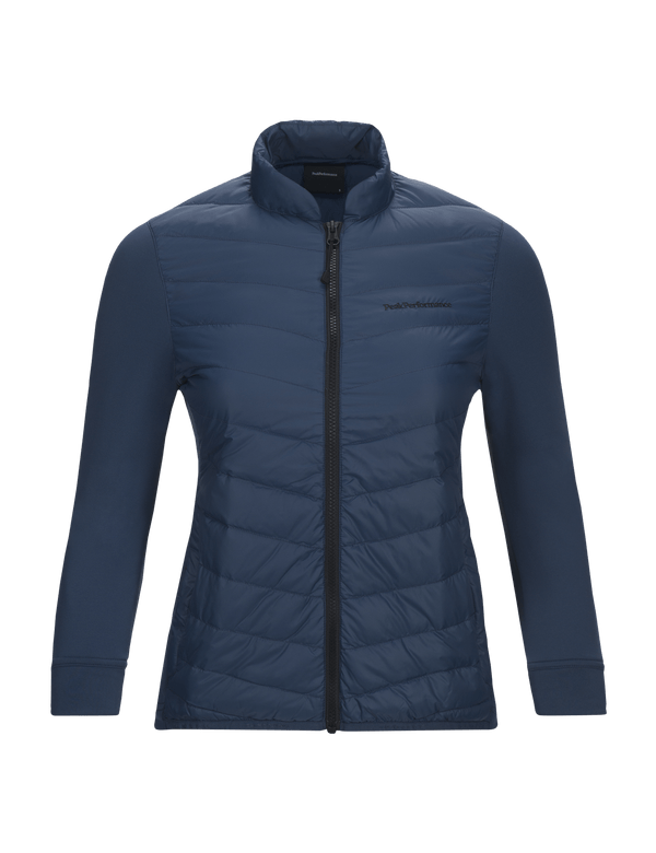 Women's Pertex Frost Hybrid Liner Jacket Decent Blue / 2AB