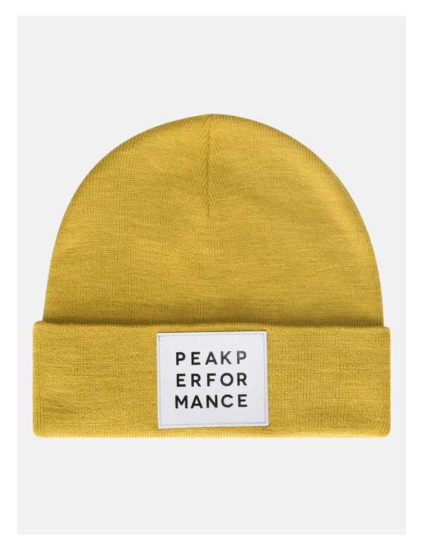 Peak Performance reflective hat yellow flow