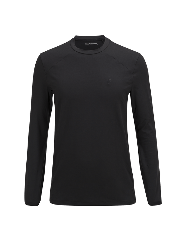 PEAKPERFORMANCE MEN'S GRAPH CREW BASE LAYER BLACK