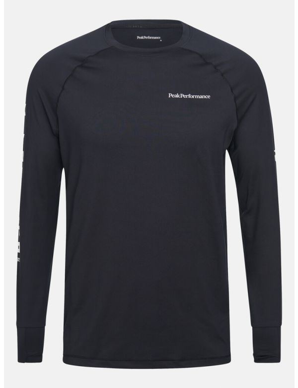 PEAK PERFORMANCE MEN'S SPIRIT CREW BLACK
