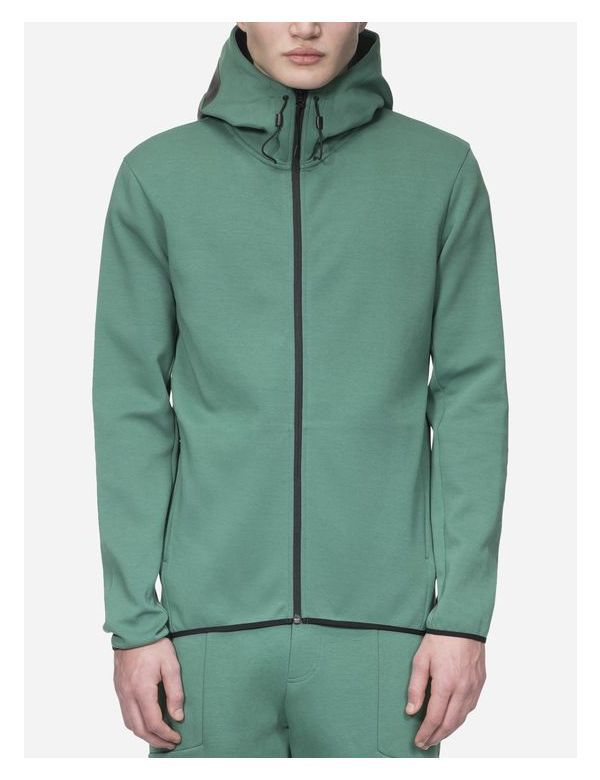 PEAKPERFORMANCE MEN'S TECH ZIP HOOD digital green