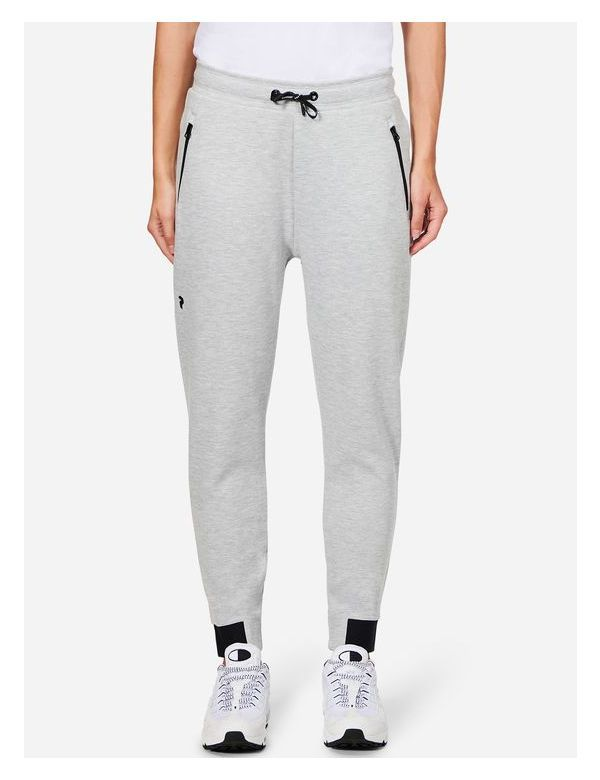 peak performance Women's Tech Cotton Blend Sweatpants Med Grey Mel / M03