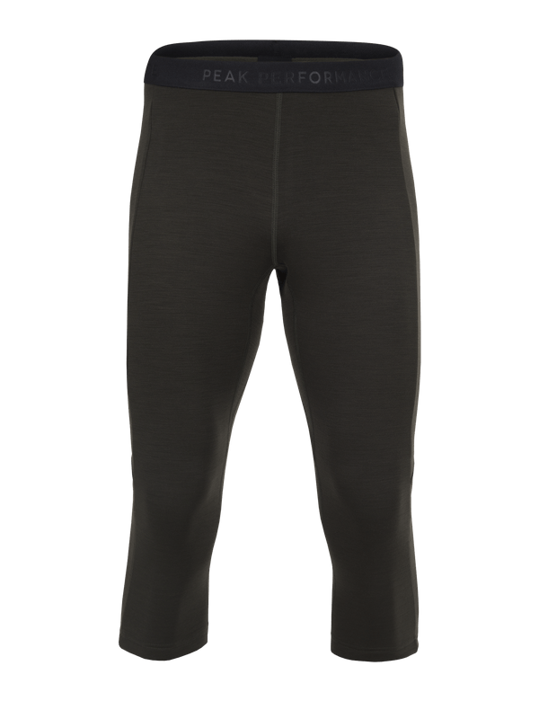 PEAKPERFORMANCE MEN'S HELO MID TIGHTS OLIVE EXTREME