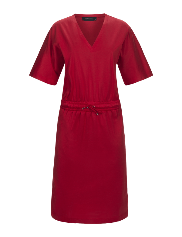 peak performance women's tess dress chinese red