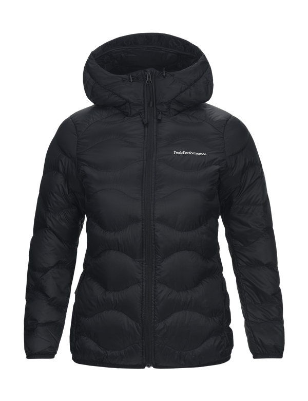 Peak performance women's helium hood jacket black