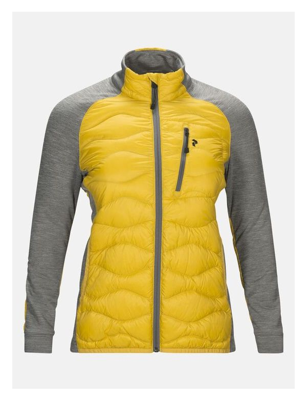 peak performance women's helium hybrid yellow flow