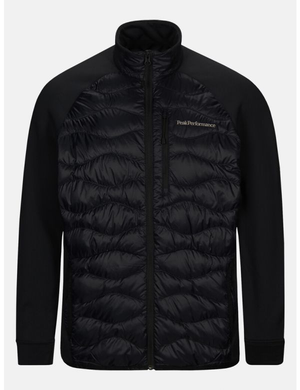 peak performance men's helium hybrid jacket black