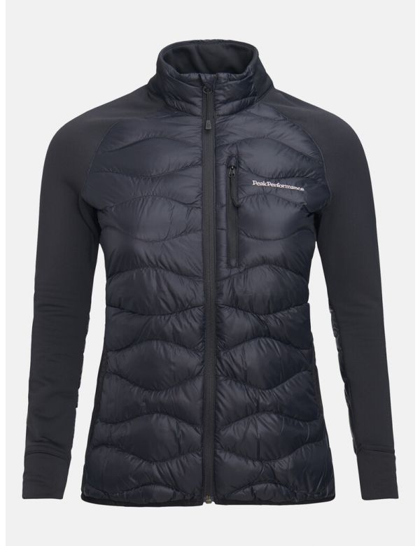 PEAKPERFORMANCE WOMEN'S HELIUM HYBRID JACKET Black