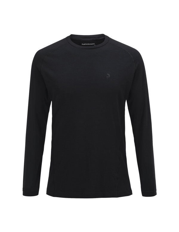 PEAKPERFORMANCE MEN'S MULTI LONG SLEEVED BASE-LAYER BLACK