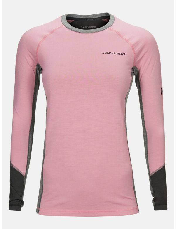 PEAK PERFORMANCE WOMEN'S MAGIC CREW Frosty Rose