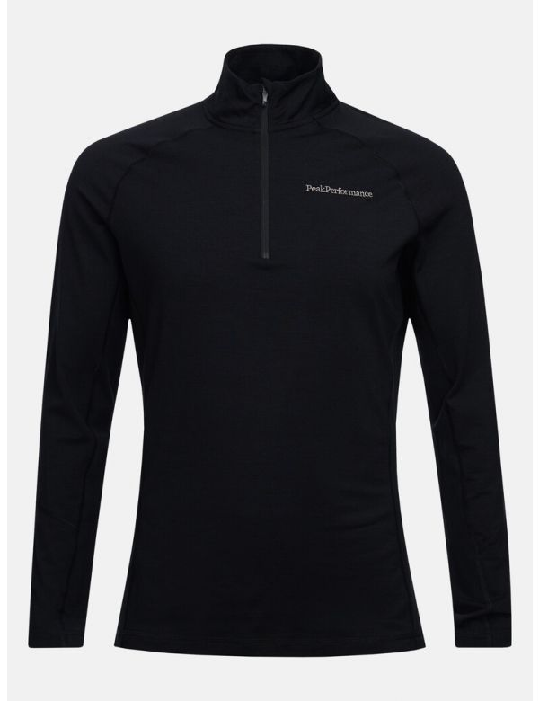 PEAK PERFORMANCE MEN'S MAGIC HALF ZIP Black