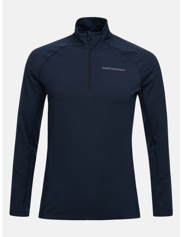 PEAK PERFORMANCE MEN'S MAGIC HALF ZIP Blue shadow