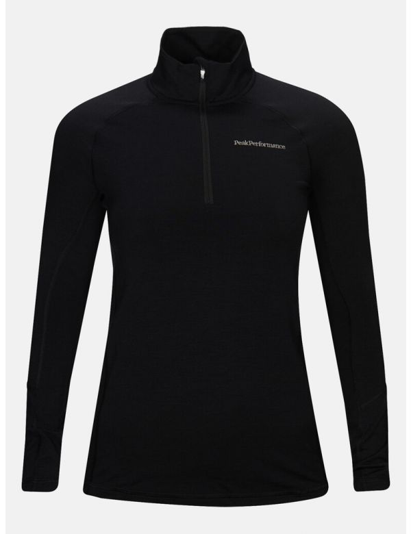 Peak performance women's magic halfzip black