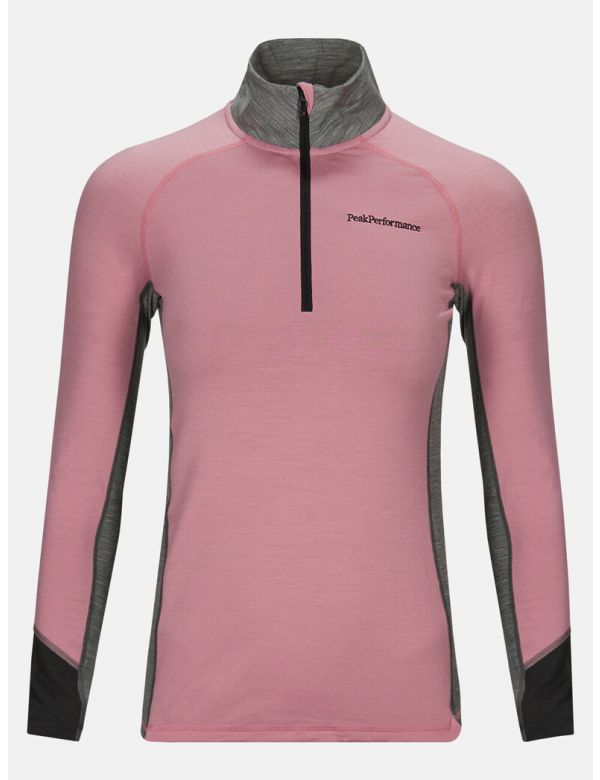 PEAK PERFORMANCE WOMEN'S MAGIC HALFZIP Frosty Rose