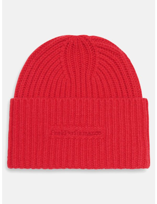 PEAK PERFORMANCE MASON HAT Polar red