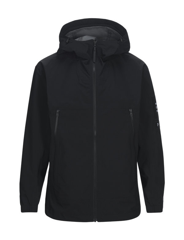 peak performance lite shell jacket black