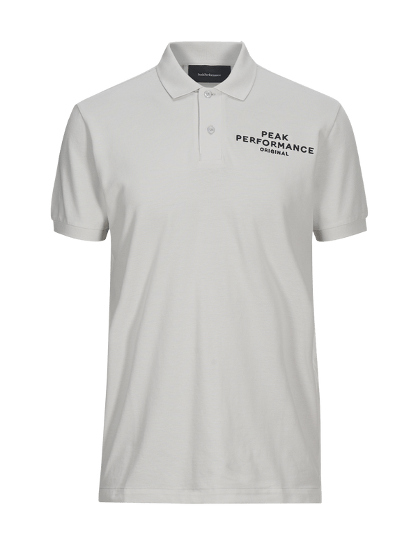 peak performance men's original pique polo white