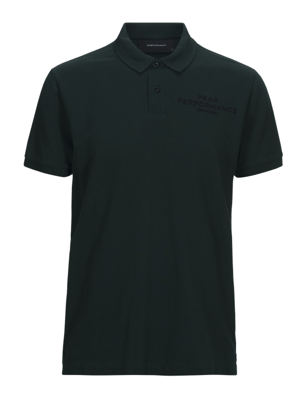 peak performance men's original pique pine grove groen