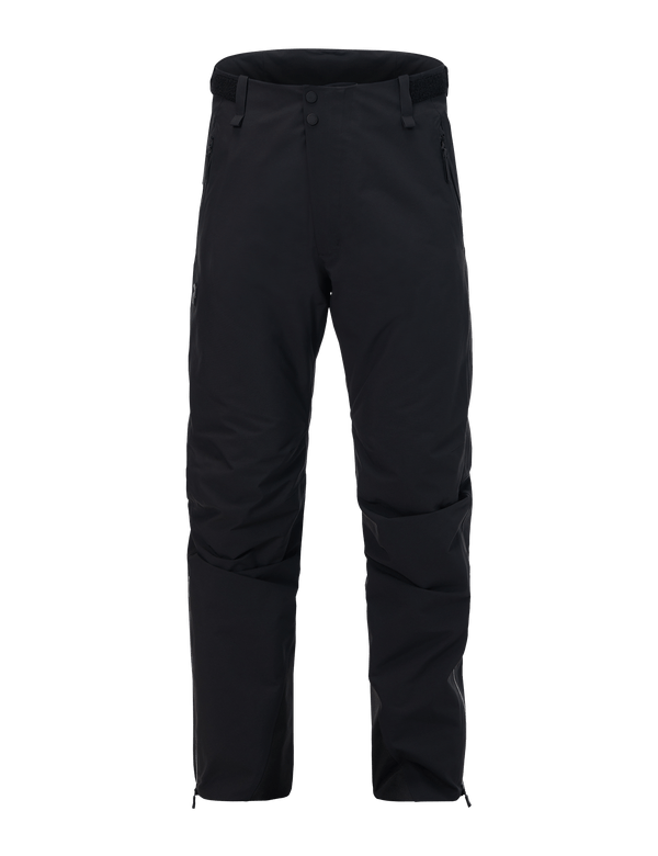 peak performance men's blizzard padded ski pants black