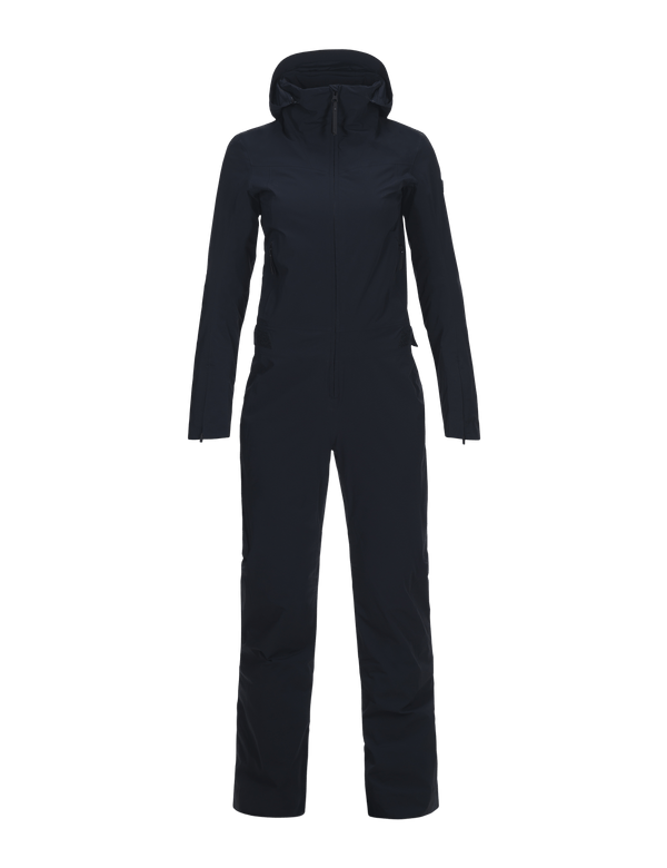 Peak performance dermizax aura skiing suit salute blue
