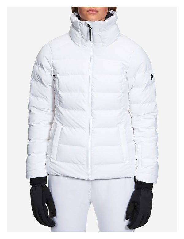 Peak performance women's megeve jacket white