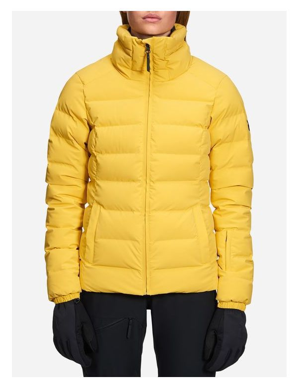 Peak performance women's Megeve jacket desert yellow