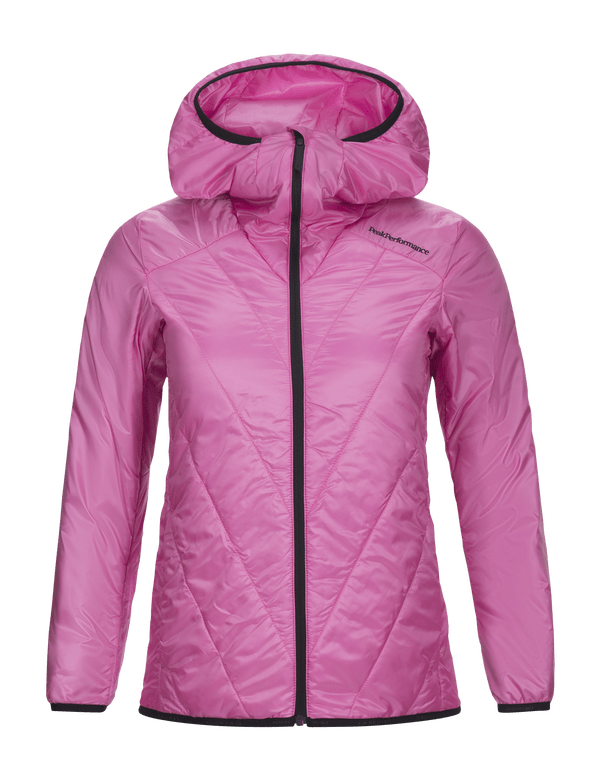 Peak performance women's helo zip liner vibrant pink