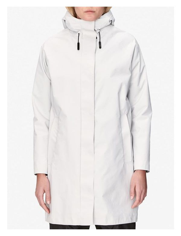 peak performance women's tech coat white