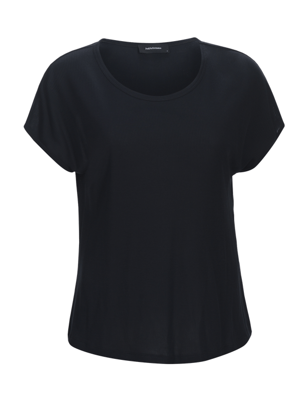peak performance women's fav short sleeved top blauw