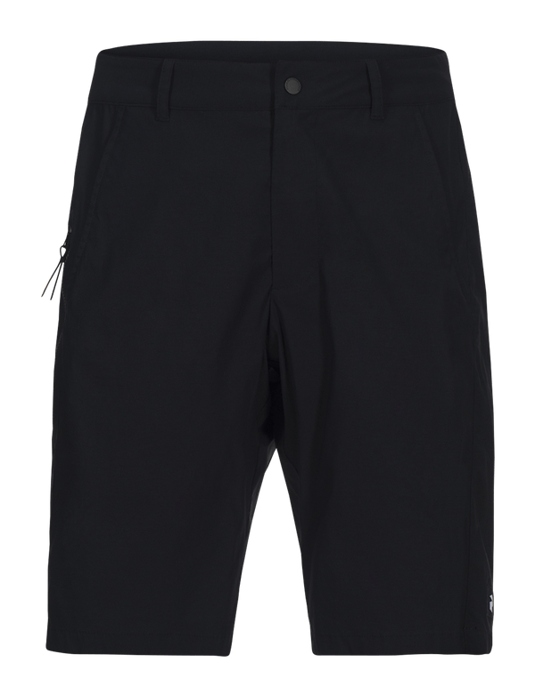 peak performance men's elevate short black