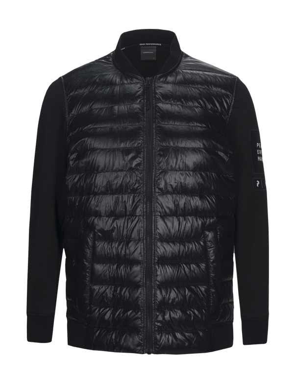 peak performance men's zip up jacket black