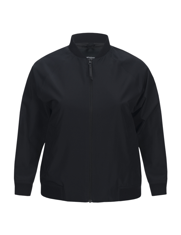 peak performance women's tech jacket zwart