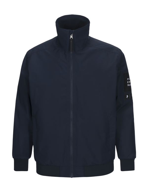 peak performance men's coastal jacket blue shadow