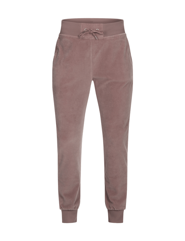 peak performance women's velour pants dusty roses