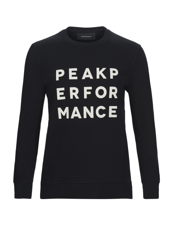 peak performance men's ground crew black