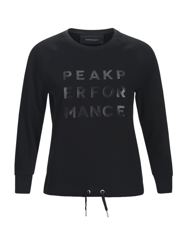 peak performance women's ground crew neck