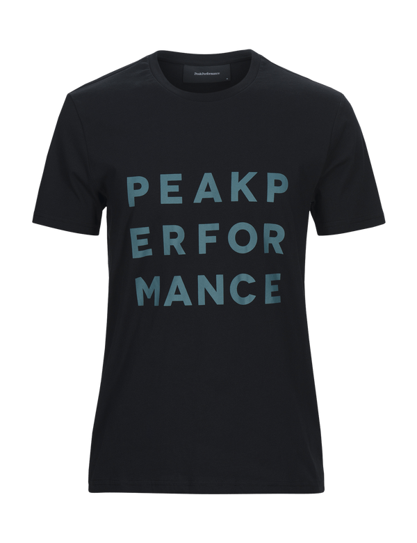 peak performance men's ground 2 t-shirt black